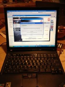 Nach dem nachlöten der Grafikkarte läuft der ThinkPad wieder