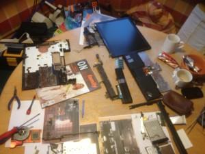 IBM ThinkPad zerlegt